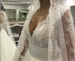 Abito Rosa Clara couture - modello Andrea nuova collezione