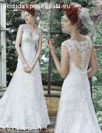 Elegante e romantico abito da sposa