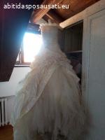 Vendo abito da sposa usato