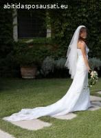 Vestito / abito da sposa alta sartoria stile Pronovias 38/40