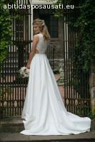 vestito da sposa nuovo Justin Alexander